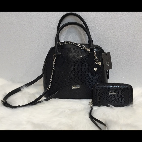14b7a84b78cc NEW 💋💋Guess Immaculate Embossed Satchel   Wallet